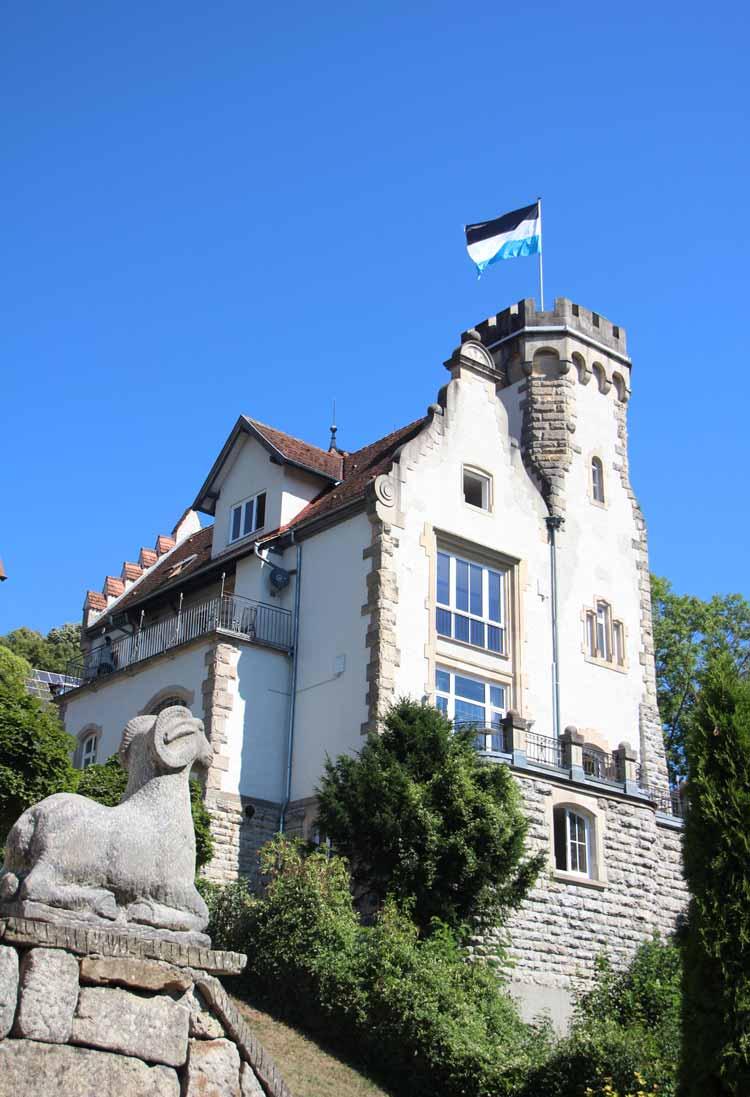 Verbindungshaus Burg KStV Alamannia