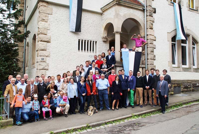 Mitglieder KStV Alamannia Tübingen